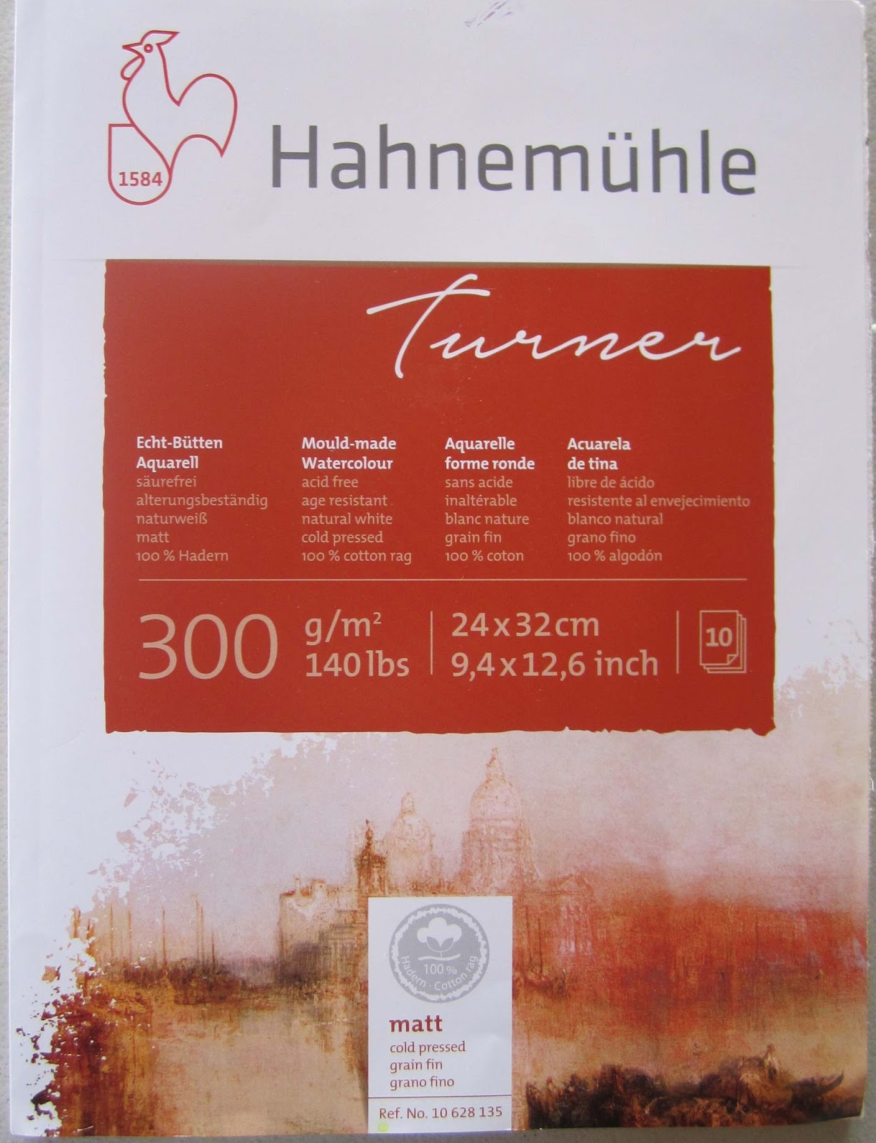 watercolor paper hahnemuhle