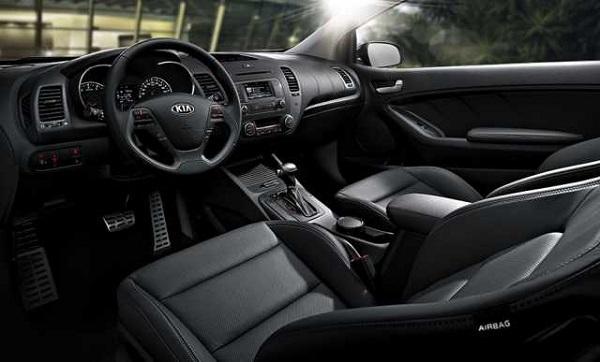 2016 Kia Forte SX, EX, interior
