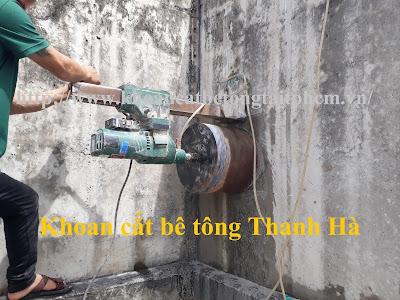 Khoan cắt bê tông tại huyện Tân Phước