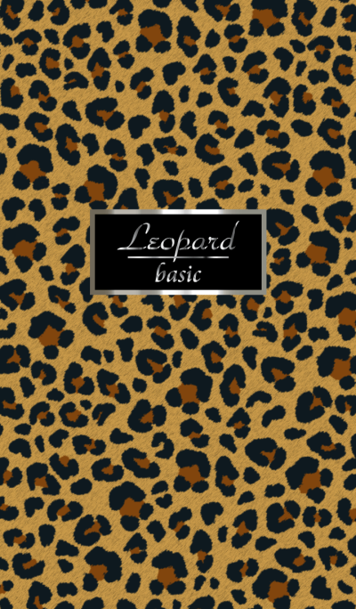 Leopard pattern Basic WV