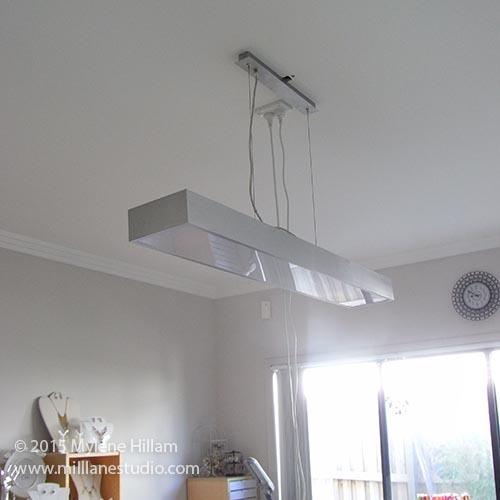 But today ... & Mill Lane Studio: New Studio Lighting - Daylight LEDs