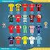 Confira todas as camisas titulares dos clubes do Campeonato Colombiano 2019