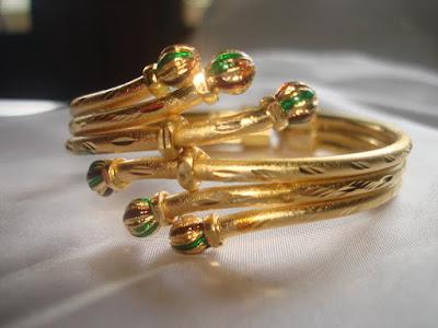 Model Gelang emas Keroncong mama