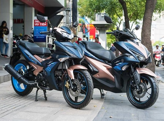 Yamaha MX Kinda dan Aerox Livery Doxou dirilis