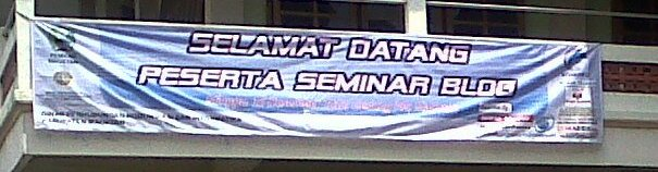Seminar Blog Goes To Magetan 2012