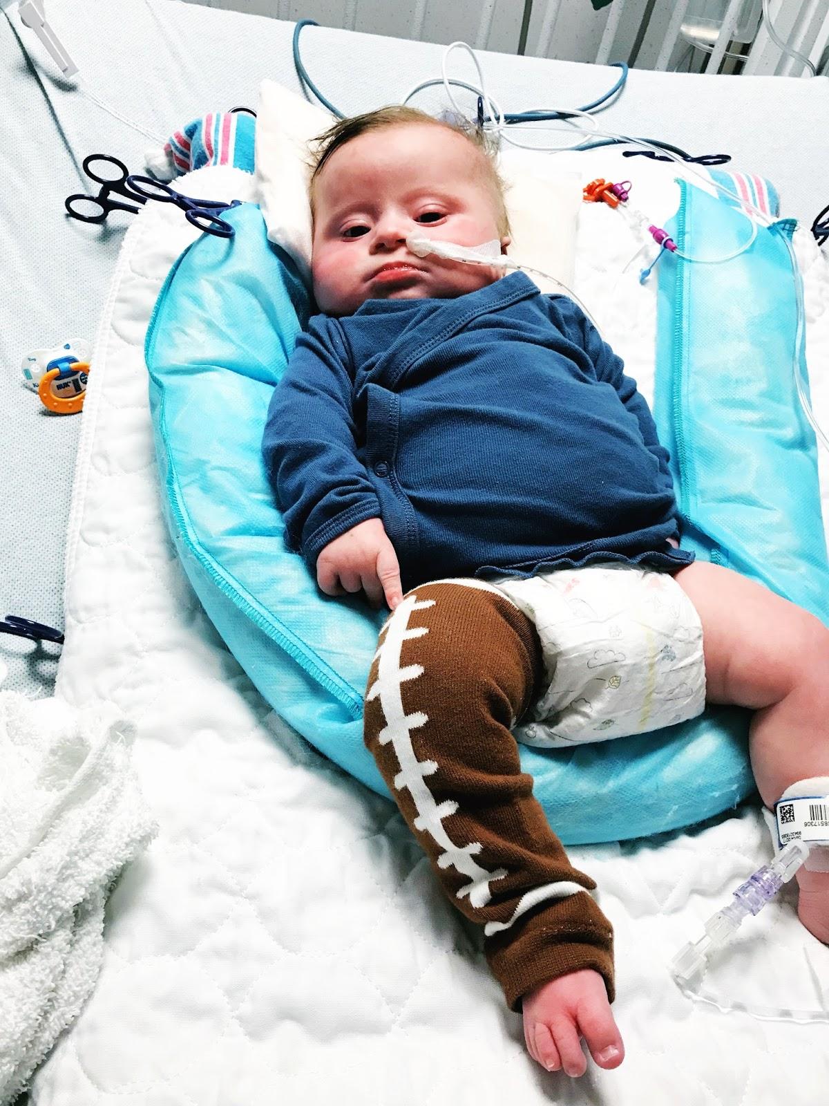 Baker the Brave | Open Heart Surgery - baby by oakley