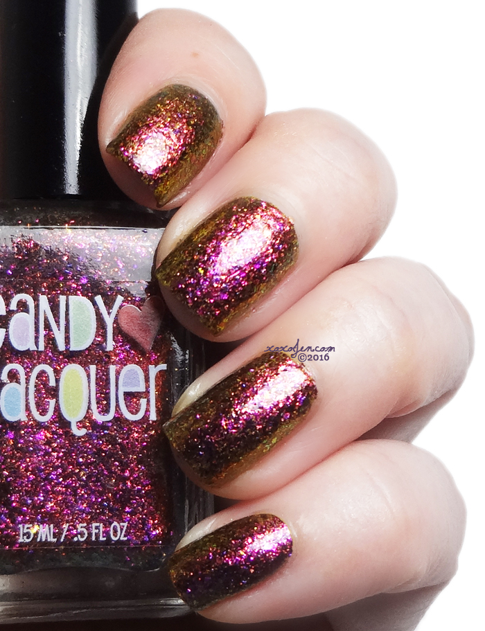 xoxoJen's swatch of Candy Lacquer Zelda's Adventure