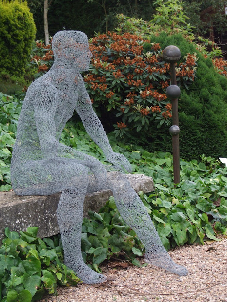 Chicken Wire Garden Sculptures