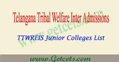 Ttwreis junior colleges list 2019 pdf
