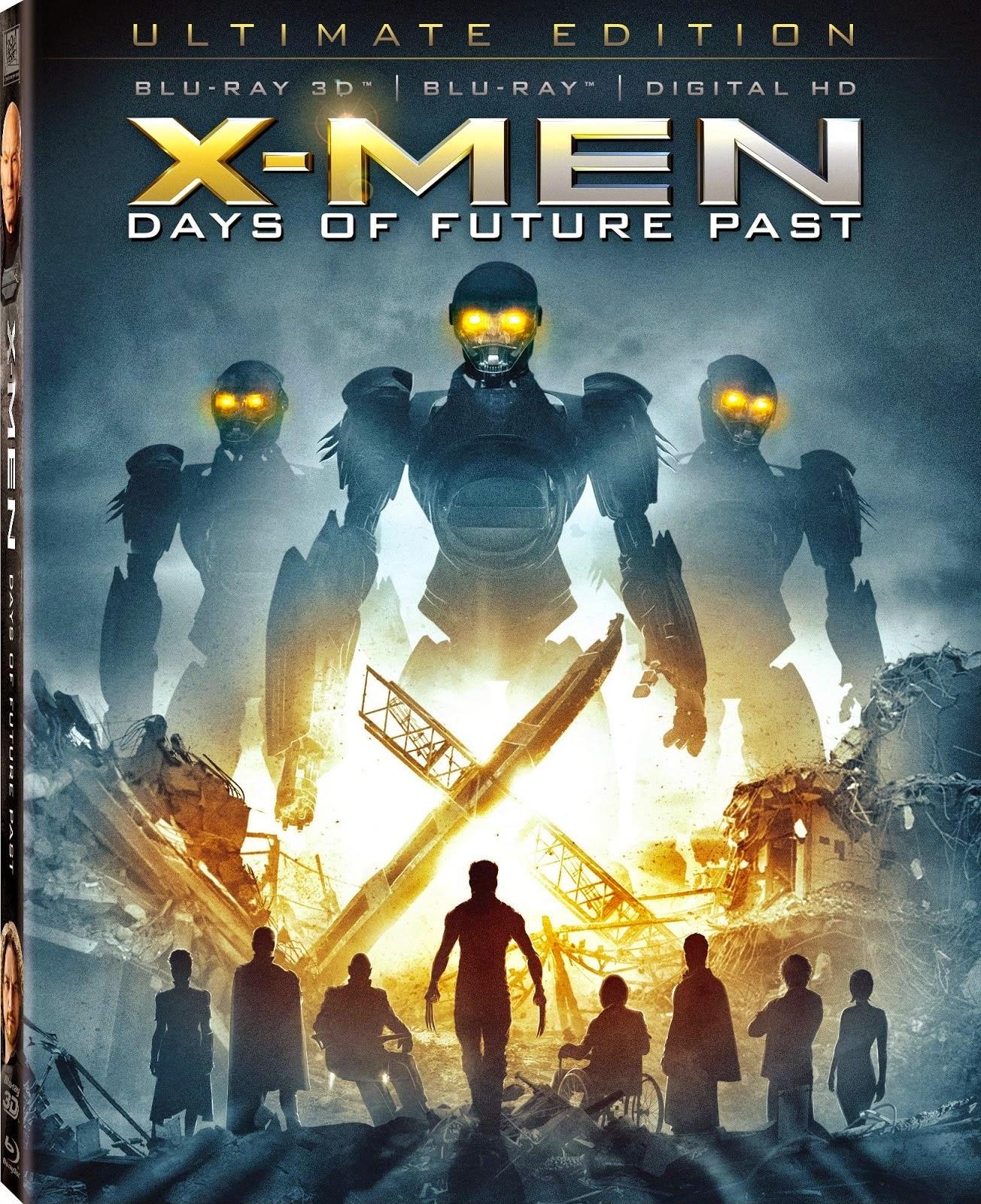 Descargar X-Men Días Del Futuro Pasado BD25 2D 3D LATINO