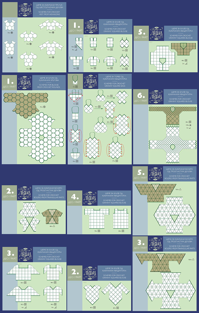 Composicion Formas Geometricas Crochet