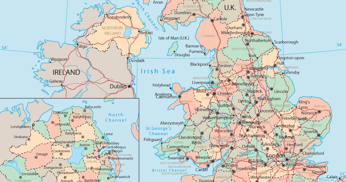 world maps United Kingdom Map