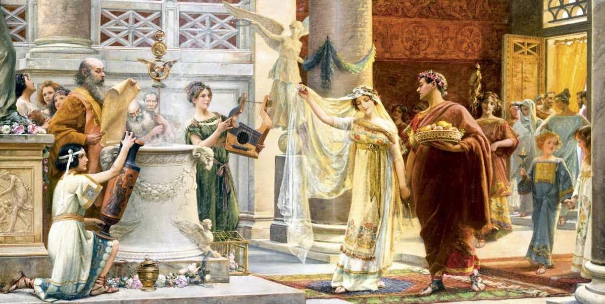 Boda y Derecho romano