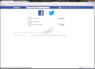 Auto Redirecting Facebook Posts to Twitter - Step 6