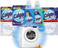 Logo Con Calgon vinci lavatrici Whirlpool FreshCare + forniture di prodotti Calgon