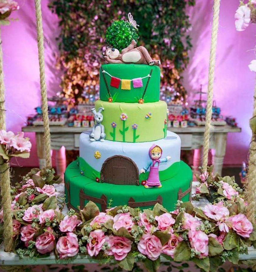 Galer a de tortas de masha y el oso - Ideas fiesta inauguracion piso ...