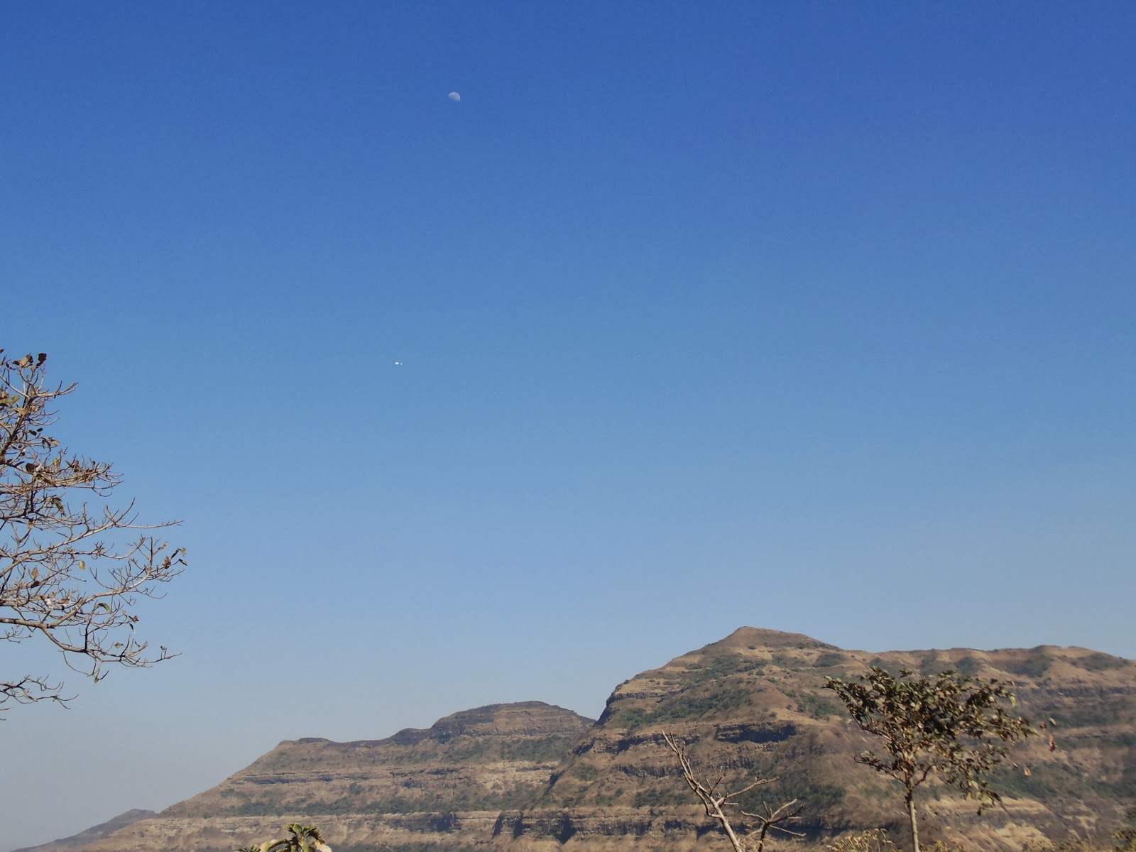 Tikona fort near pune and pawana dam