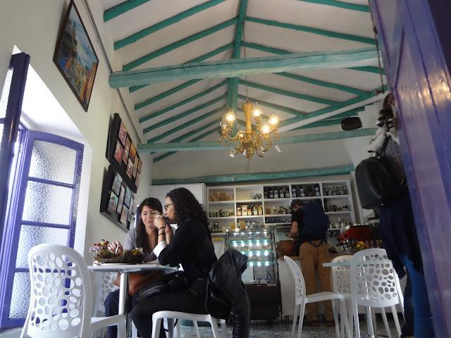 コロンビアボゴタにあるおしゃれなカフェ