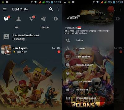 BBM Mod COC (Clash of Clans) Versi 3.3.6.51 Terbaru