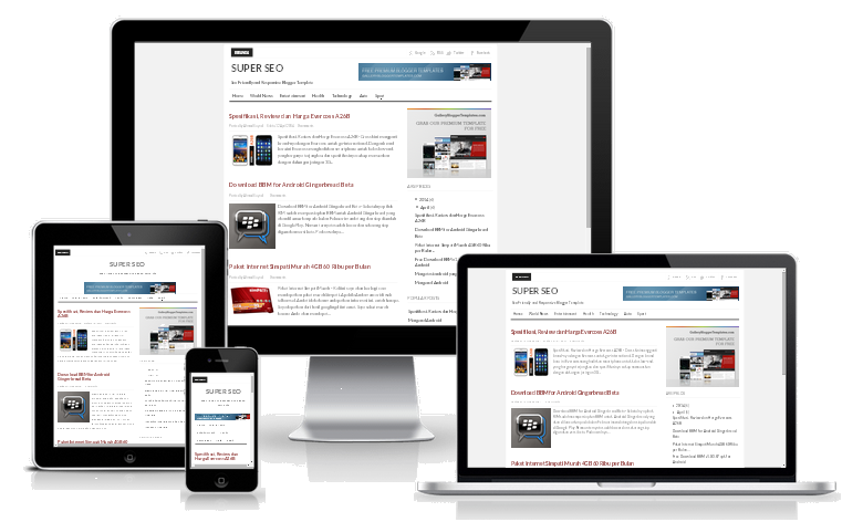Super SEO Responsive Blogger Template