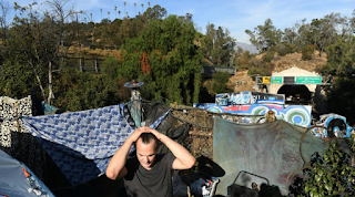 Homeless street services stall as encampments continue to grow