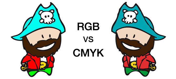 pirate RGB CMYK