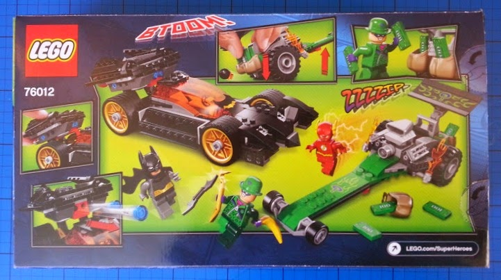 The Brick Castle: LEGO Batman: The Riddler Chase 76012 Review