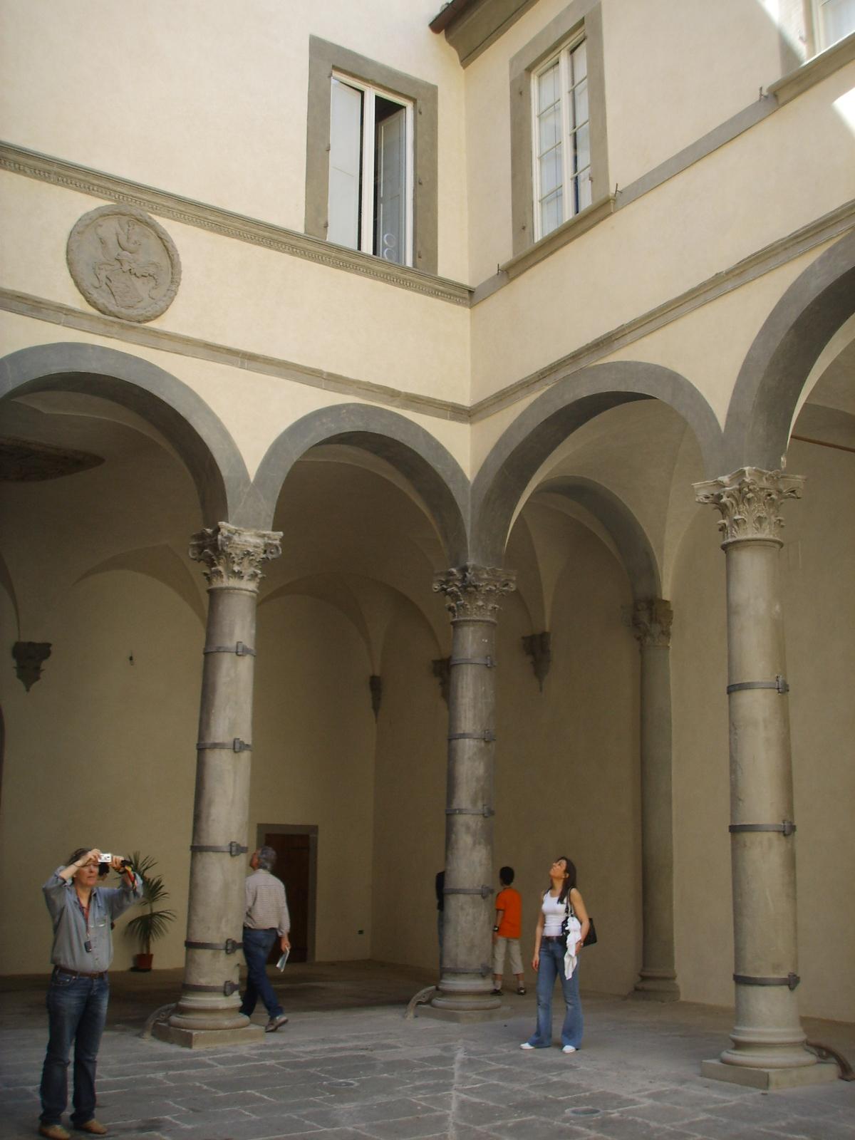 Leon Battista Alberti Palazzo Rucellai