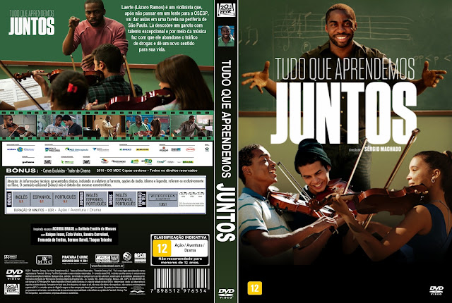 Capa DVD Tudo Que Aprendemos Juntos