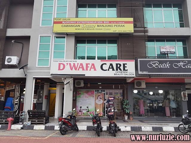 Servis D'wafacare Muslimah Spa Manjung Perak Tip Top!