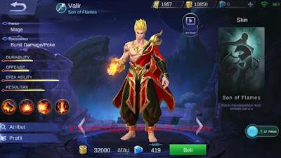 Cara Mudah Mengalahkan Hero Valir Mobile Legend
