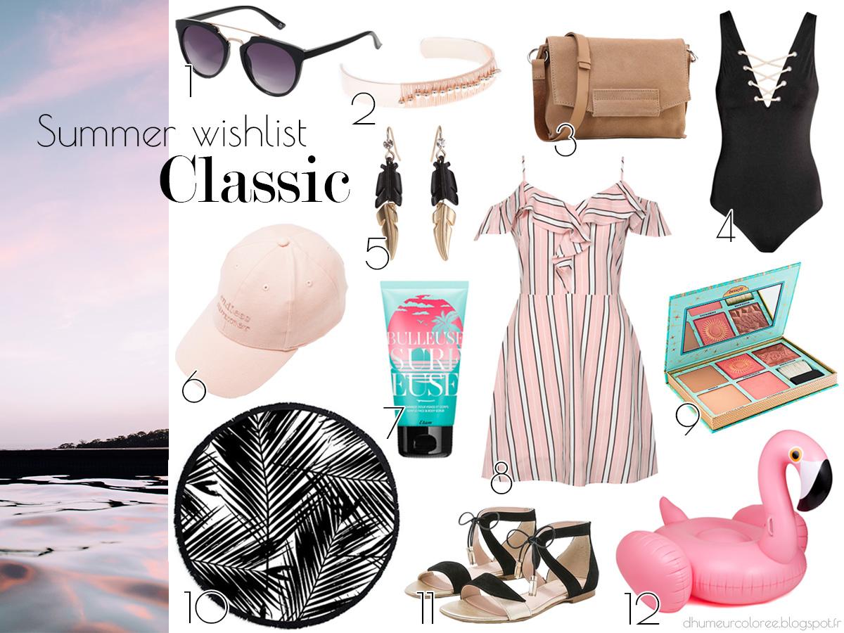 Summer wishlist 2017 classic style