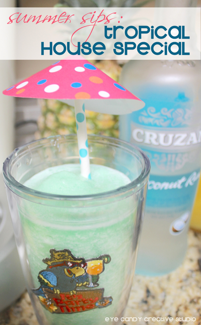 summer drink recipe, tropical drink, summer cocktails, drink umbrella