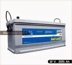 inci akü formul a heavy duty serisi 12 volt 225  amper