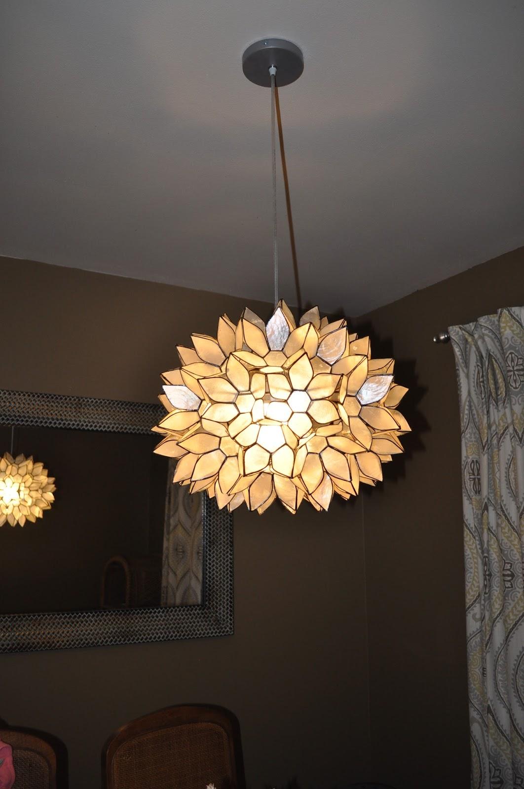 Superb World Market, Large Capiz Chandelier, Lighting, Dining Room, Hardwire, Diy, Awesome Design