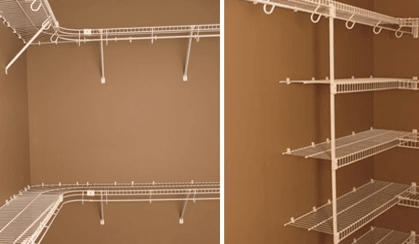 DO IT YOURSELF Wire Shelving: A DIY Space Preserving Answer