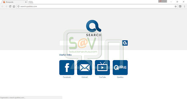 Search.quebles.com (Hijacker)