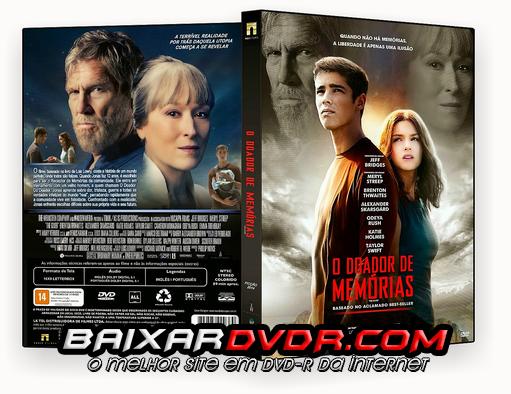 O DOADOR DE MEMÓRIAS (2014) DUAL AUDIO DVD-R OFICIAL