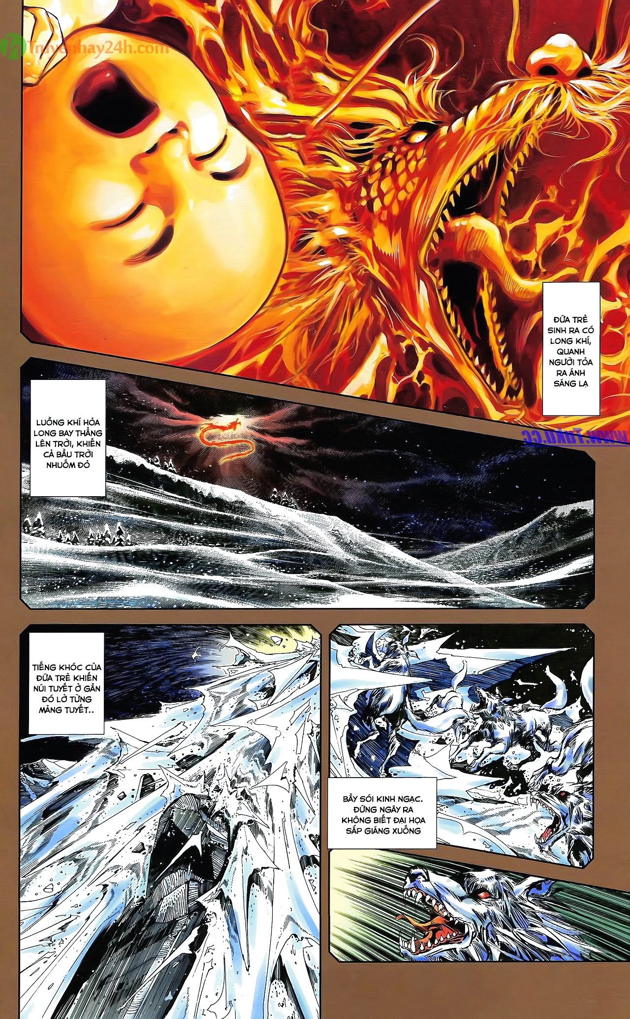 Tần Vương Doanh Chính chapter 30 trang 3