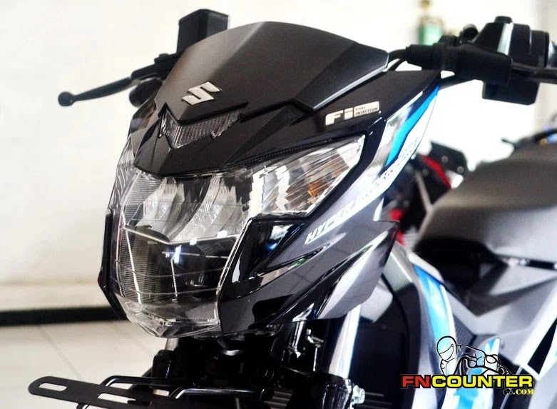 Suzuki All New Satria Raider F150 FI Craziest Underbone