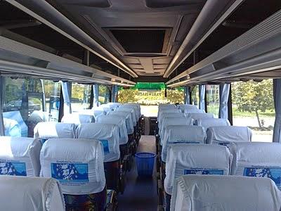 Rental Bus Jakarta, bus 59 seat
