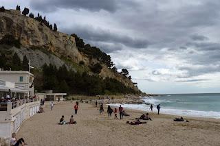 Pequeña playa de Cassis.