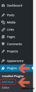 Add new Plugin - WordPress