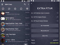 Download BBM MOD darkNAVY 3.0.1.25 Terbaru