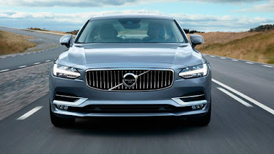 New Volvo S90 front view Image