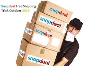 snapdeal free shipping trick