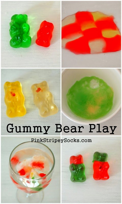 6 things to do with gummy bears | Pink Stripey Socks