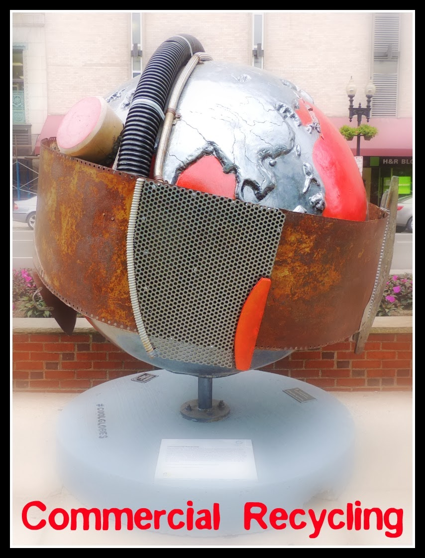 The Cool Globes en Boston: Commercial Recycling
