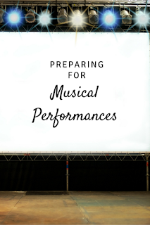 Preparing for Musical Performances: Includes links to a podcast, freebies, and more for your music classroom!