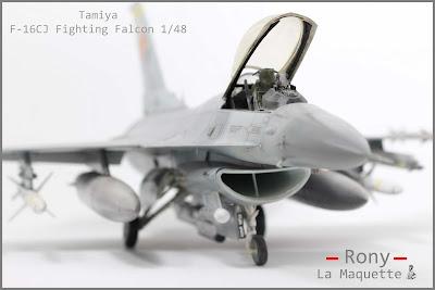 F-16 CJ Fighting Falcon  Tamiya